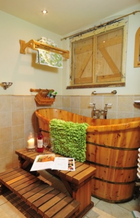 Luxury Eco Friendly Cottages | The Bothy near Lincoln