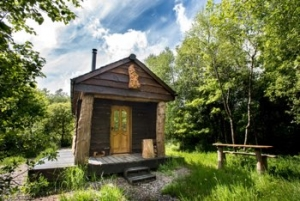 Romantic Off Grid Cabin for Couples in the Devon Woods | Bulsworthy Cabin