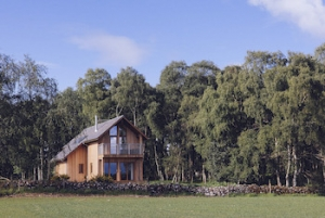 Luxury Highland Cottage for Couples near Inverness, Scotland | Lodges at the Mains