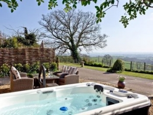 Devon Hot Tub Cottage for Couples near Exeter | The Shippen at Sherway Farm
