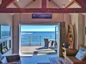 Northumberland sea view honeymoon cottage for couples | Bank Top Cottage