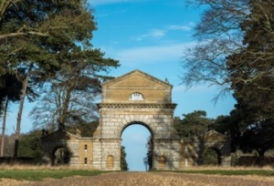 Norfolk Boutique Honeymoon Cottage for Couples | Holkham Hall Triumphal Arch