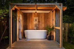 Somerset Hot Tub Cottage for Couples Glamping | The Hide