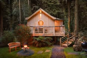 Somerset Hot Tub Cottage for Couples Glamping | The Birdhouse