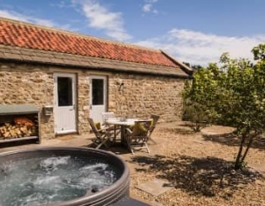 Yorkshire pet friendly hot tub cottage richmond