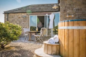yorkshire pet friendly hot tub cottage for couples richmond