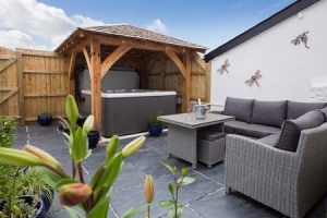 Romantic Cottages Devon with Hot Tub | Rose Cottage