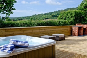 somerset pet friendly hot tub lodge for couples