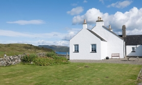 romantic cottage ardfern argyll