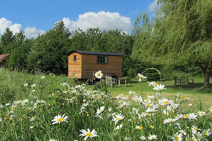 Borleymere Shepherds Hut