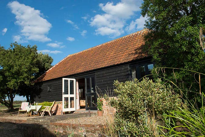 Bromans Barn, East Mersea Island