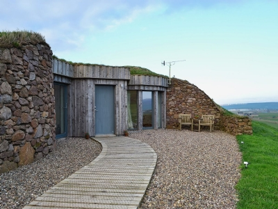 Luxury cottage for two near Campbeltown Scotland