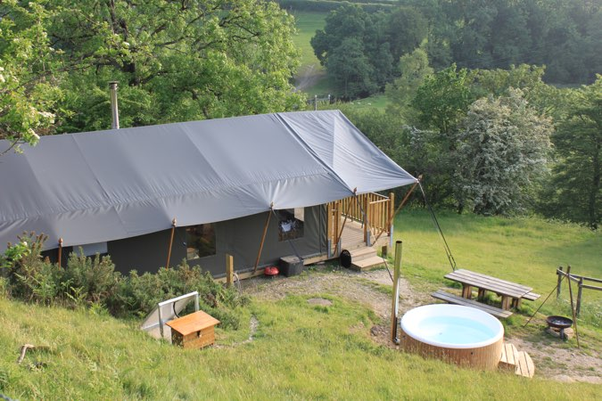 Seren Luxury Safari Tent, Lampeter